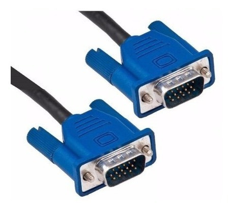 cable vga monitor macho a macho 1.5 mts doble filtro