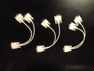 cable vga spliter  macho a dos hembra