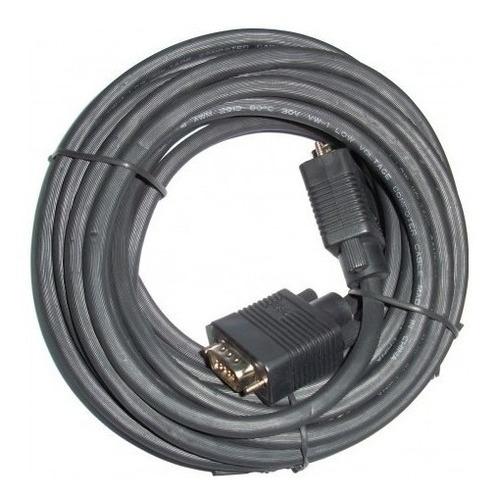 cable vga vga 20 metros macho macho de doble filtro ja