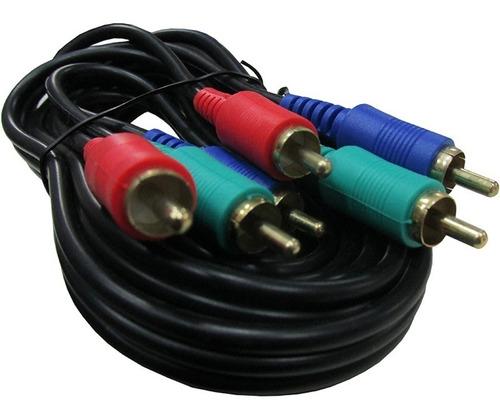 cable video componente 1.8 metros / 4504