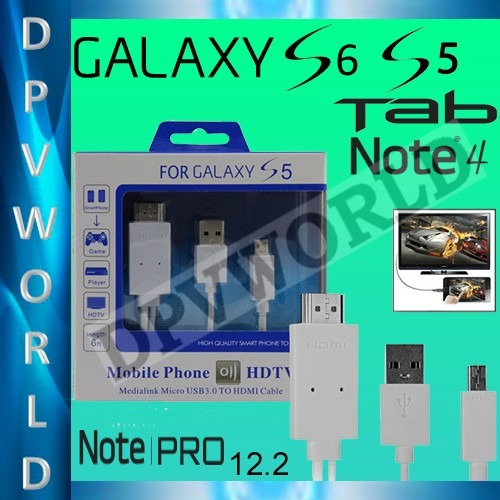cable video samsung galaxy mhl s5 note 4 pro tab 4 s hdmi
