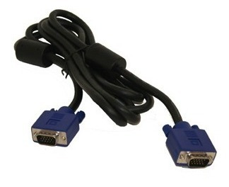 cable video vga p/ pc notebook monitor tv - factura a / b