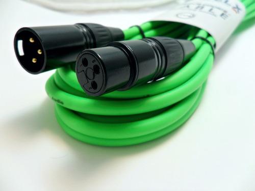 cable welx audio cc6 balanceado xlr-xlr 6 metros palermo