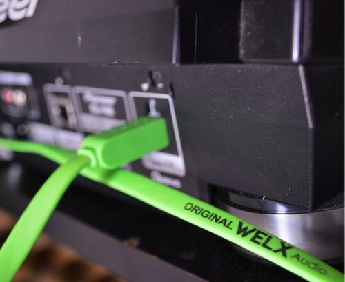 cable welx audio usb flat type b 1 metro palermo