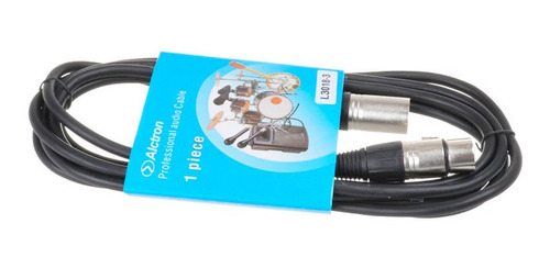 cable xlr canon alctron para microfono condenser  full