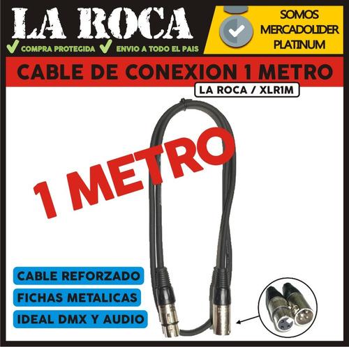 cable xlr dmx canon canon 1 metro la roca