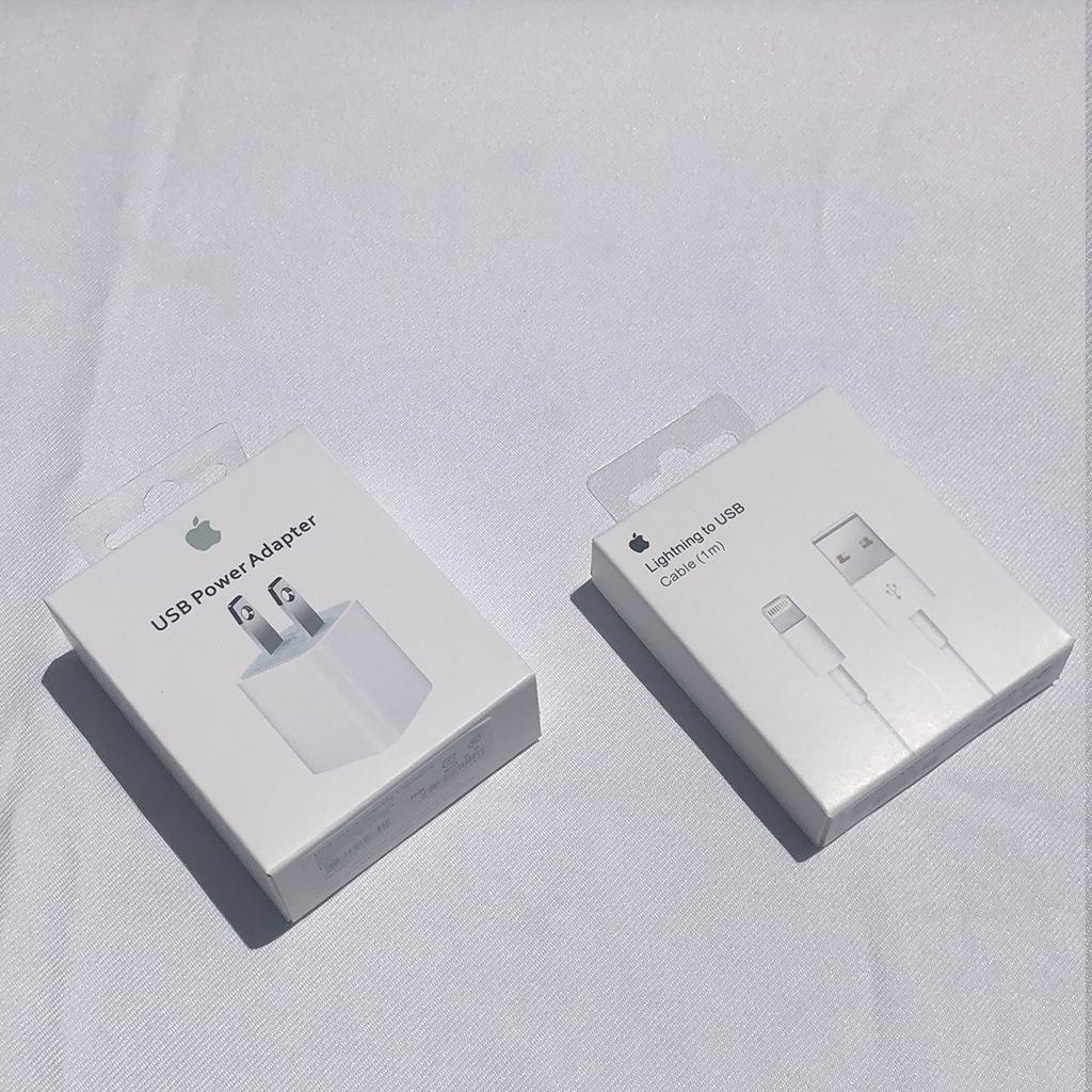 bb911b6ab27 cable y cubo cargador apple original iphone 5 6 7 8 x ipod. Cargando zoom.