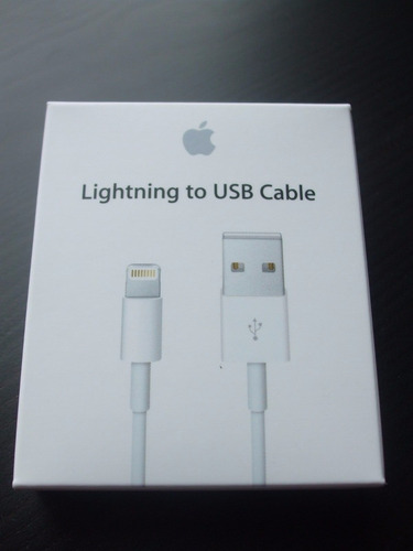 cable/accesorio/ aplle lightning usb iphone 100% orginal