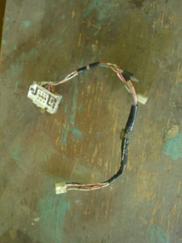 cableado de control de vidrios de terios