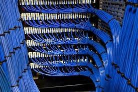 cableado de red en la marca panduit