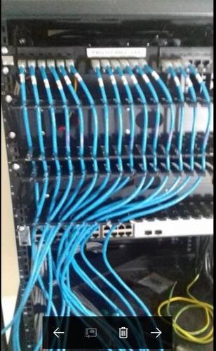 cableado estructurado certificacion cat6,cat6a, fibra optica