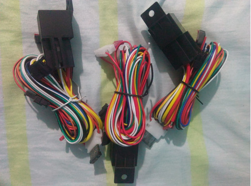 cableado o ramal gps tracker tk103a y b completo con rele