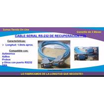 Cable Rs232 De Recuperación Fta, Azamerica, Probox, + Otros!