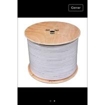 Bobina Cable Coaxial Rg6 De 305mtr
