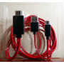 Cable Conector / Adaptador Hdmi - Usb /micro 11pin Usb (mhl)