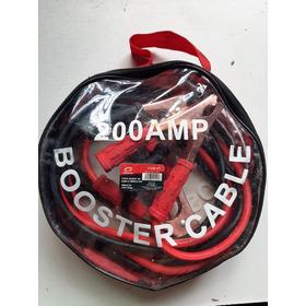 Cables Auxiliares Marca Fermetal De 200 Amperios.