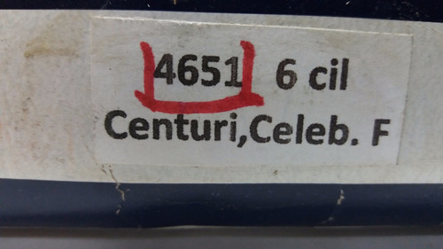 cables bujia chevrolet century celebrity 6 cil 8.5mm #4651