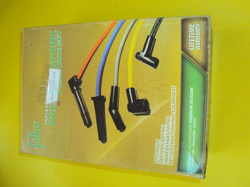 cables bujias fiesta motor 1.6 marca acdc