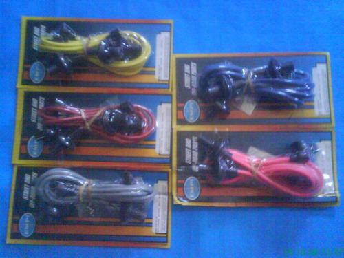 cables bujias silicon 7mm vocho 5 colores marca empi jgo vw