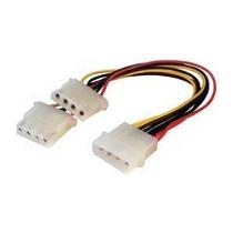 Cable Duplicador Y Molex 4 Pin De Alimentación Fuente Atx