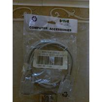 Cable Monitor (conecta Cpu Con El Monitor) , Macho-macho