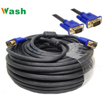 El Mejor Cable Alta Calidad Vga Monitor C/filtro Dorado 33mt