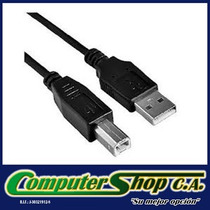 Cable Para Impresora Usb 2.0 De 1,8 Mts De Largo.