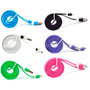 Cable Plano Micro Usb Plano 1 Mts Samsung Blackberry Htc