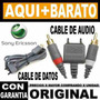 Cable De Audio Sony Ericsson Original