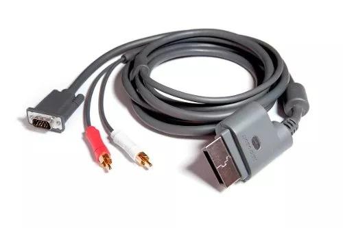 cables de audio y video xbox 360