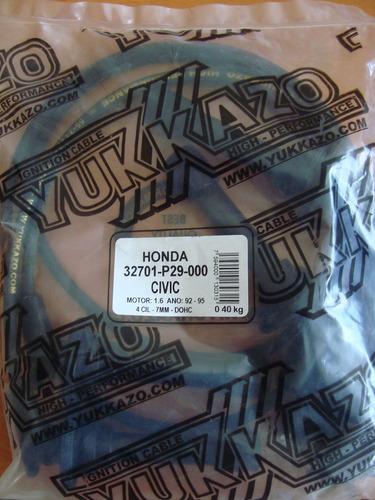 cables de bujia honda civic m1.6 doch 92-95  (p29-000)