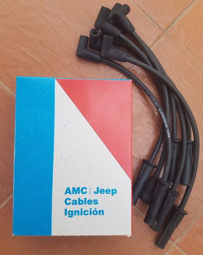 cables de bujia jeep / cherokee / wagonneer 4.0 lt