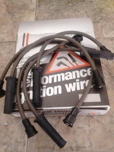 cables de bujia marca high performance, corcel y del rey.
