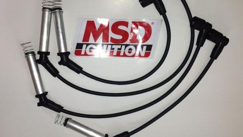 cables de bujia msd para todo tipo de carro