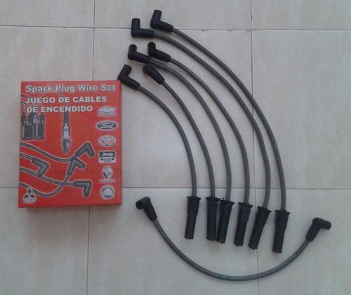 cables de bujia o encendido jeep/ cherokee/ wagonneer 4.0 lt