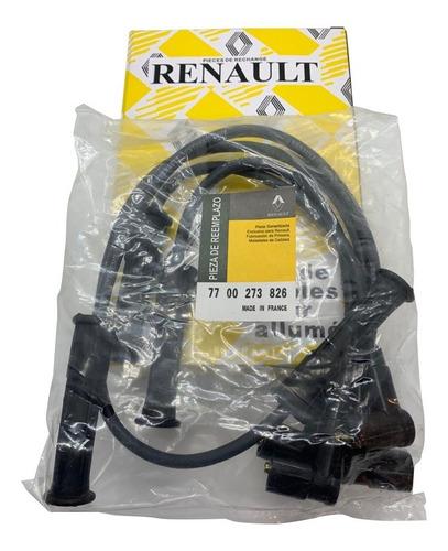 cables de bujia renault logan/symbol/ twingo /clio original