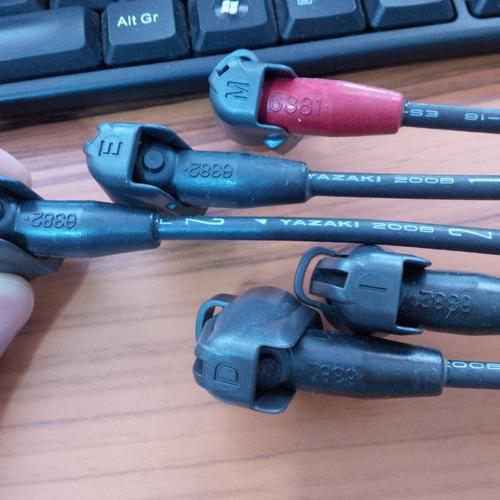 cables de bujia toyota hilux 22r originales