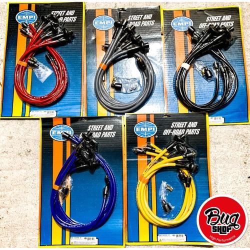 cables de bujias de 10.4mm taylor spiro pro 409 color negro