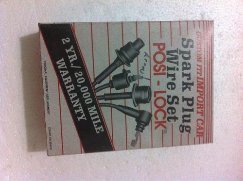 cables de bujías hyundai accent 1.3/1.5 getz 1.3 americanos