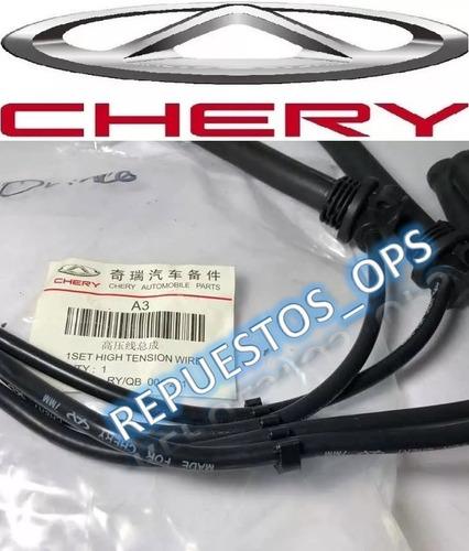 cables de bujias orinoco / chery tiggo 2.0 original chery