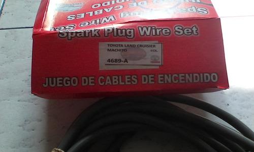 cables de bujias para toyota land cruisser  6 cil.