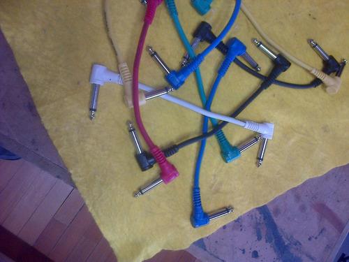 cables de pacheo warwick angulados para pedales de 18 cm