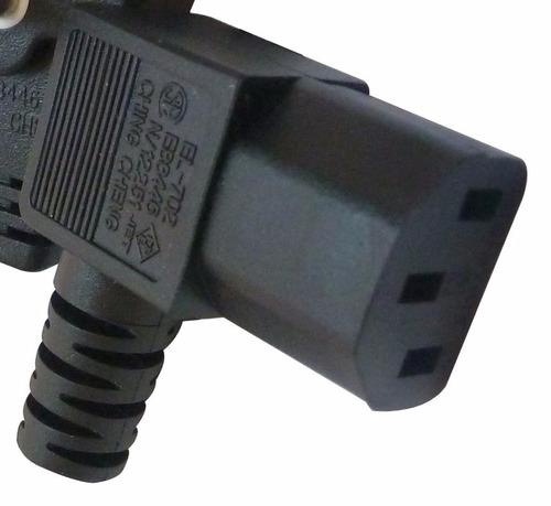 cables de poder para equipos pc - 1.5 mts  125v extra largo