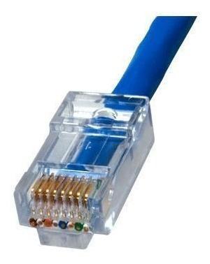 cables de red por metro internet con conectores