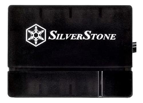 cables del sistema de hub de ventilador silverstone pwm, neg