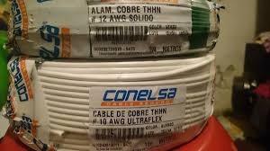 cables eléctricos sólidos,flexibles,gemelos,concéntricos,etc