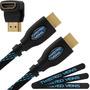 Cable Hdmi De 15 Mts + Angulo 90 + Velcro