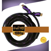 Cable Hdmi Full Hd 1080p 3d 1.5 Mts, Blu Ray,tv,ps3,xbox,ps4
