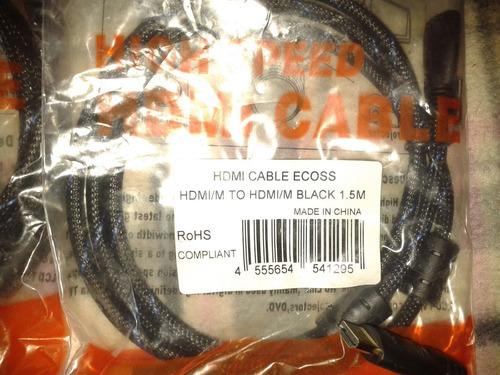 cables hdmi de 1.5 metros