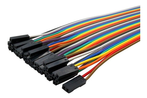 cables jumpers dupont 120 piezas (20 cm) proyectos arduino